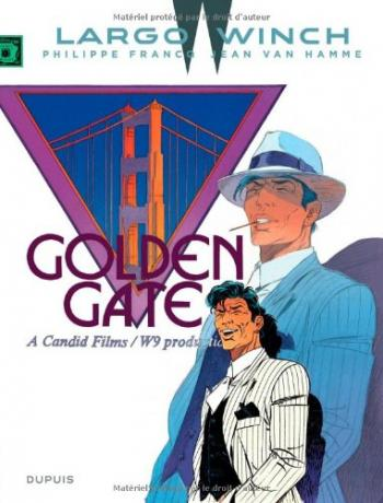 Couverture de l'album Largo Winch - 11. Golden Gate