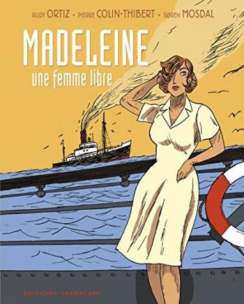 Couverture de l'album Madeleine, une femme libre (One-shot)