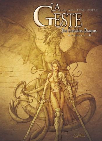 Couverture de l'album La Geste des Chevaliers Dragons - INT. La geste des chevaliers dragons (intégrale) - Tomes 1 à 4