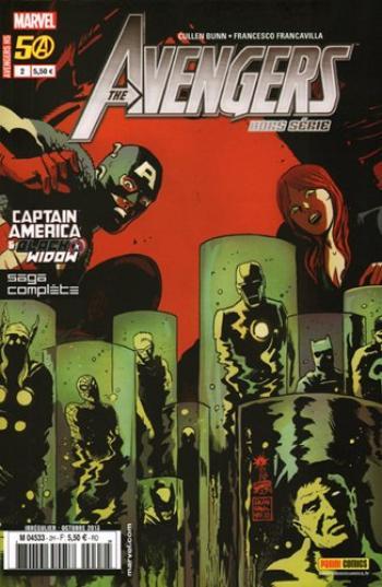 Couverture de l'album Avengers - Hors-Série - 2. Captain America & Black Widow : bienvenue dans le Multivers