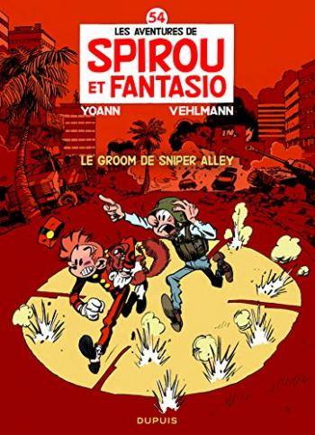 Couverture de l'album Spirou et Fantasio - 54. Le Groom de Sniper Alley