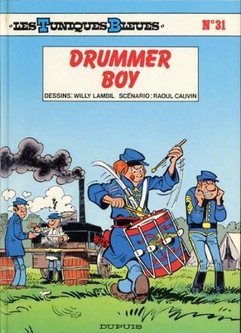 Couverture de l'album Les Tuniques bleues - 31. Drummer boy