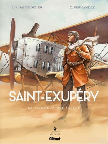 Couverture de l'album Saint-Exupéry - 1. Le Seigneur des sables