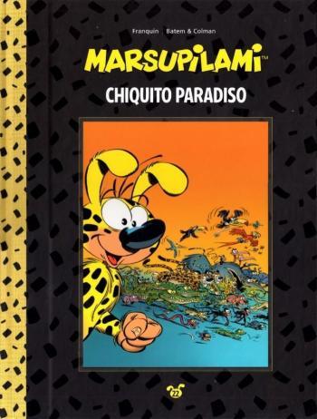 Couverture de l'album Marsupilami (Collection Hachette) - 22. Chiquito Paradiso