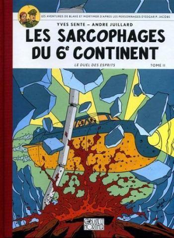 Couverture de l'album Blake et Mortimer (Blake et Mortimer) - 17. Les Sarcophages du 6e continent II