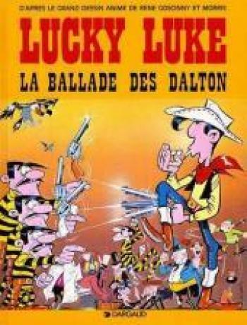 Couverture de l'album Lucky Luke - HS. La ballade des Dalton