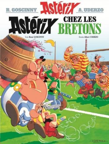 Couverture de l'album Astérix - 8. Astérix chez les Bretons