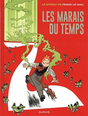 Couverture de l'album Une aventure de Spirou et Fantasio par... (Le Spirou de…) - 2. Les Marais du temps