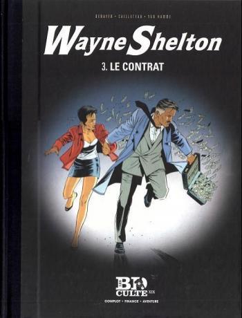 Couverture de l'album Wayne Shelton (Le Figaro) - 3. Le Contrat