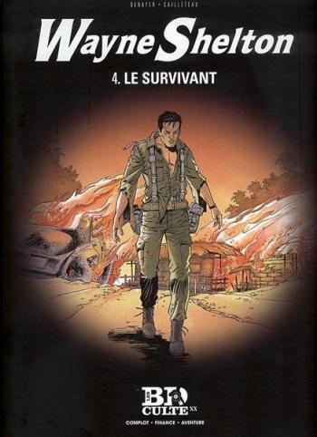 Couverture de l'album Wayne Shelton (Le Figaro) - 4. Le Survivant