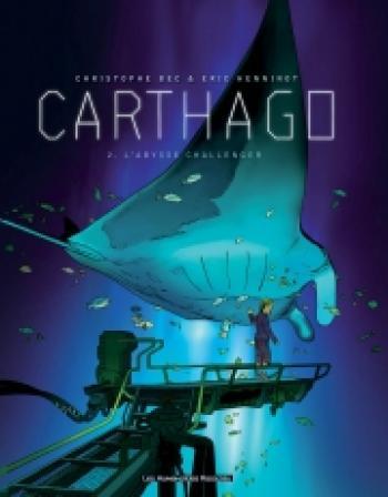 Couverture de l'album Carthago - 2. L'Abysse Challenger