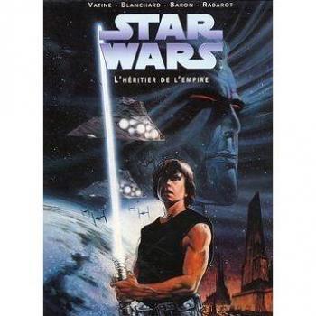 Couverture de l'album Star Wars - Le Cycle de Thrawn (Dark horse) - COF. L'héritier de l'empire