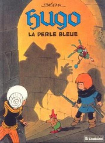 Couverture de l'album Hugo - 5. La Perle bleue