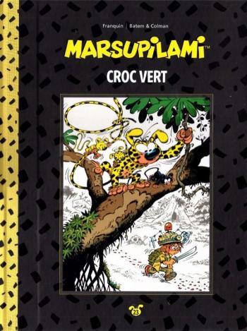 Couverture de l'album Marsupilami (Collection Hachette) - 23. Croc vert