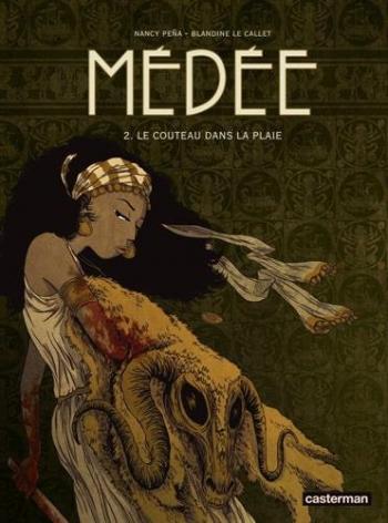 Couverture de l'album Médée (Le Callet/Peña) - 2. Le Couteau dans la plaie