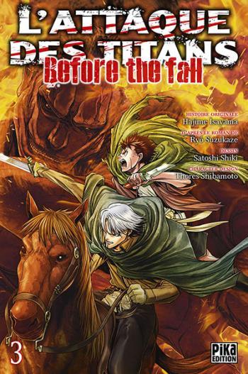 Couverture de l'album L'Attaque des Titans - Before the Fall - 3. Before the fall - Tome 3