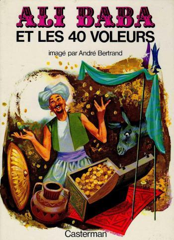 Couverture de l'album Ali Baba et les 40 voleurs (One-shot)