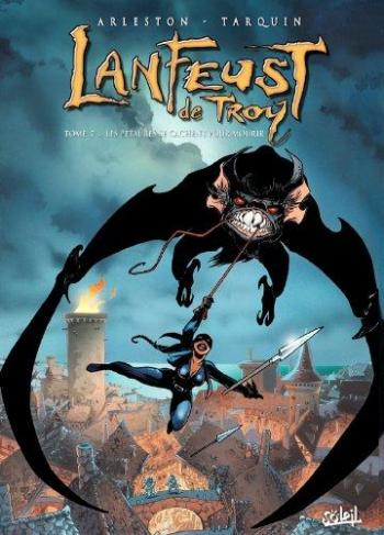 Couverture de l'album Lanfeust de Troy - 7. Les pétaures se cachent pour mourir