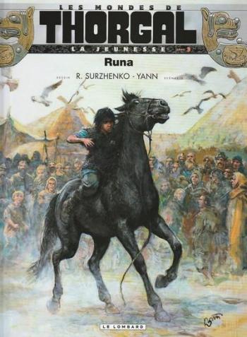 Couverture de l'album Les Mondes de Thorgal - La Jeunesse - 3. Runa