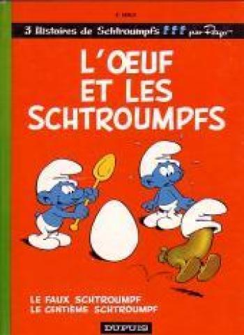 Couverture de l'album Les Schtroumpfs - 4. L'oeuf et les schtroumpfs