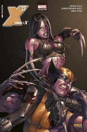 Couverture de l'album Marvel Collector - 3. Target X