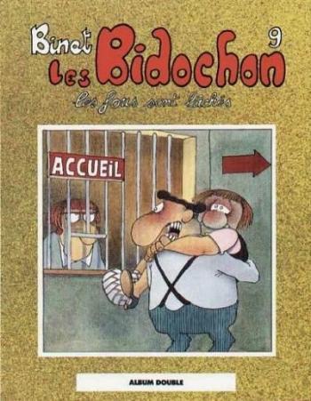 Couverture de l'album Les Bidochon - INT. Les fous sont lâchés / Usagers de la route