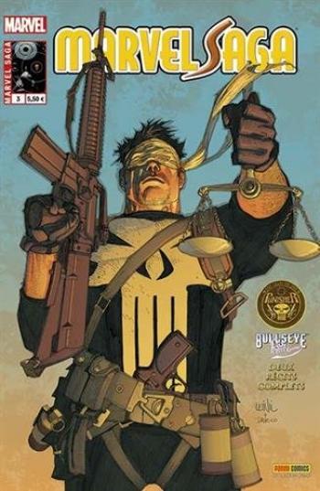 Couverture de l'album Marvel Saga (V2) - 3. Le procès du Punisher