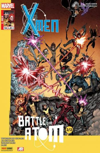 Couverture de l'album X-Men (V4) - 10. La Bataille de l'atome (2/2)