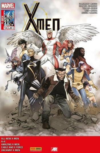 Couverture de l'album X-Men (V4) - 12. L'Âge d'or