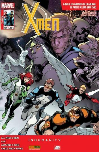 Couverture de l'album X-Men (V4) - 15. Le Procès de Jean Grey (1/6)