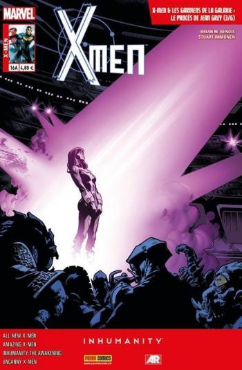 Couverture de l'album X-Men (V4) - 16. Le Procès de Jean Grey (3/6)