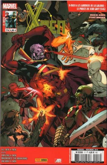 Couverture de l'album X-Men (V4) - 17. Le Procès de Jean Grey (5/6)