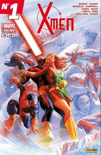 Couverture de l'album X-Men (V4) - 18. La Tête dans les étoiles