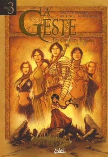 Couverture de l'album La Geste des Chevaliers Dragons - INT. La Geste des Chevaliers Dragons I-II-III