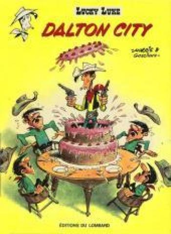 Couverture de l'album Lucky Luke - 34. Dalton city