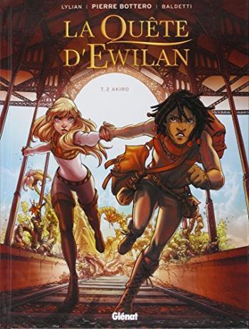 Couverture de l'album La Quête d'Ewilan - 2. Akiro