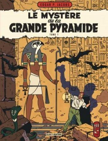 Couverture de l'album Blake et Mortimer (Blake et Mortimer) - 4. Le mystère de la grande pyramide