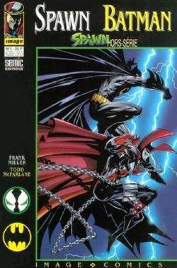Couverture de l'album Spawn H.S. (Semic) - HS. Spawn Batman