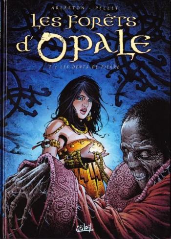 Couverture de l'album Les Forêts d'Opale - 7. Les dents de pierre