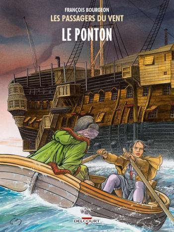 Couverture de l'album Les Passagers du vent - 2. Le Ponton