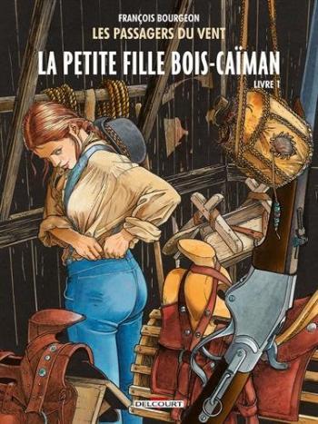 Couverture de l'album Les Passagers du vent - 6. La Petite Fille Bois-Caïman - Livre 1