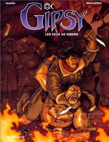 Couverture de l'album Gipsy - 2. Les feux de Sibérie