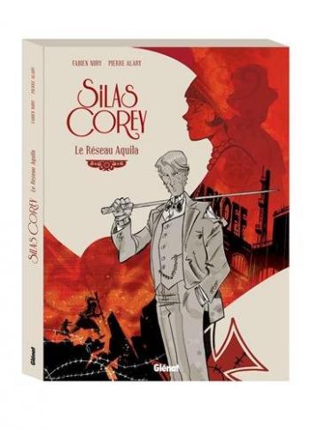 Couverture de l'album Silas Corey - COF. Le Réseau Aquila - Tomes 1 et 2