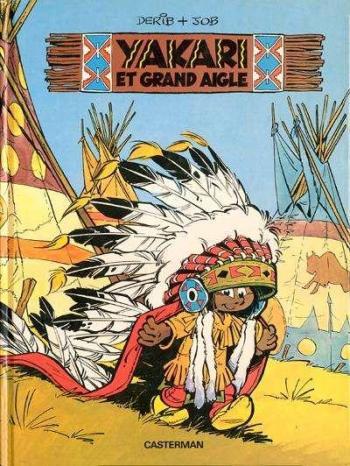 Couverture de l'album Yakari - 1. Yakari et grand aigle