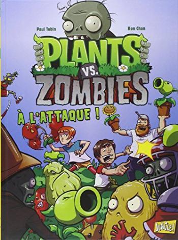 Couverture de l'album Plants vs. Zombies - 1. A l'attaque !
