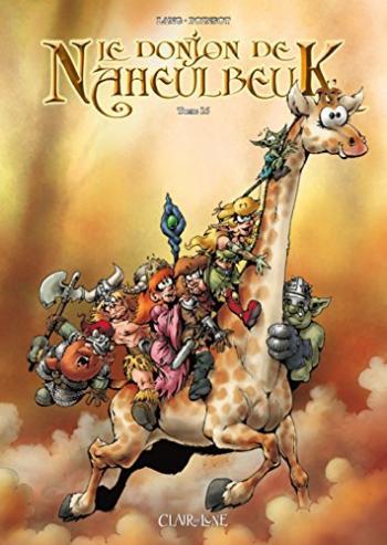 Couverture de l'album Le Donjon de Naheulbeuk - 16. Cinquième saison - Partie 3