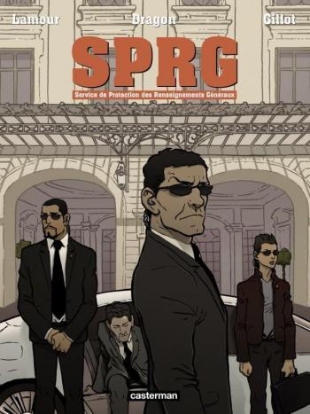 Couverture de l'album SPRG - Service de Protection des Renseignements Généraux (One-shot)