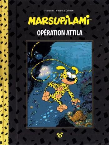 Couverture de l'album Marsupilami (Collection Hachette) - 24. Opération Attila