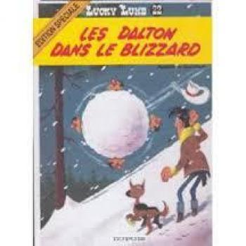 Couverture de l'album Lucky Luke - 22. Les daltons dans le blizzard