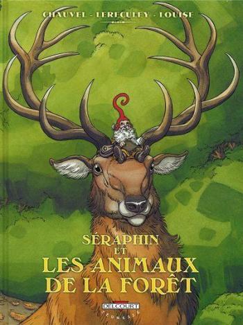 Couverture de l'album Séraphin et les animaux de la forêt (One-shot)